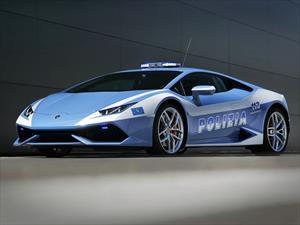 La policía Italiana estrena Lamborghini Huracán como patrulla