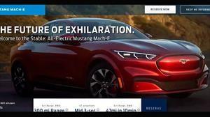 Mañana presentan el Ford Mustang Mach-E