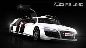 Audi R8 transformado en Limusina: Para no creer
