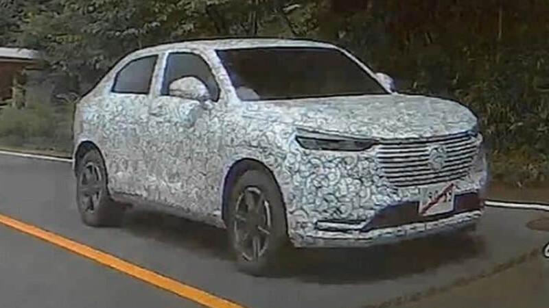 La próxima generación del Honda HR-V es captada en Japón
