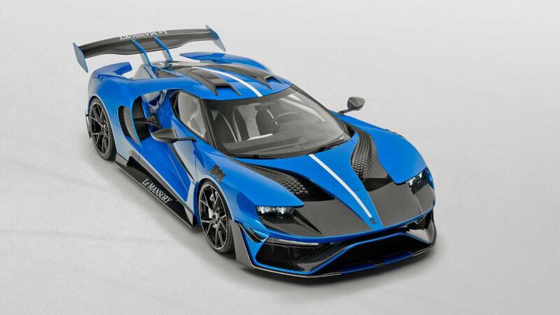 Ford GT Le Mansory, un extravagante deportivo en traje de fibra de carbono