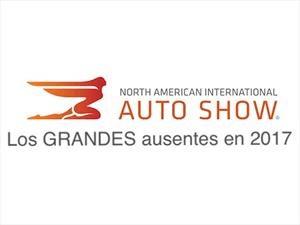 Las ausencias del Auto Show de Detroit 2017