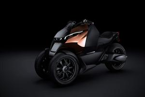 Peugeot Onyx Scooter Concept debuta en el Salón de París 2012