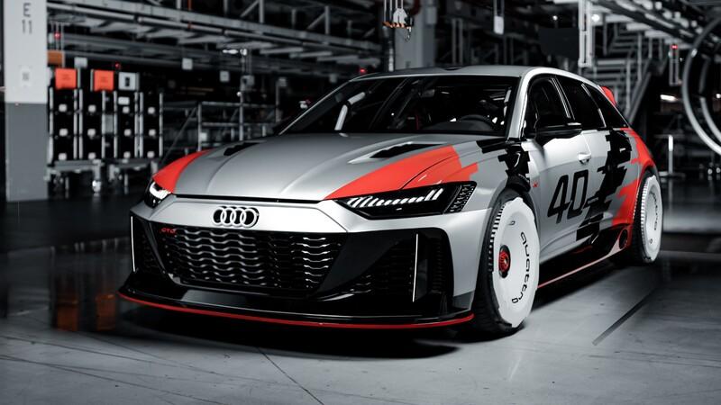 Audi RS6 GTO Concept es un tributo a los 40 años del sistema quattro
