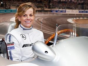 Susie Wolff se queda sin licencia de conducir