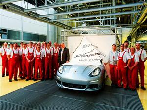 Porsche celebra el Panamera número 100.000