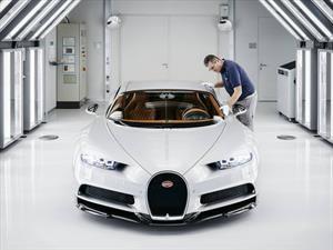 25 datos sobre la producción del Bugatti Chiron