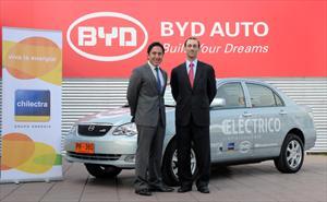 BYD F3DM: Modelo híbrido en Chile