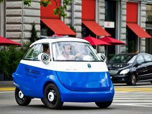 """Conozca el vehículo eléctrico que le rinde """"homenaje"""" al BMW Isetta"""