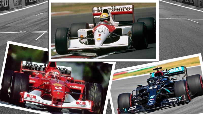 F1: ¿Quién es más rápido? Senna, Schumacher o Hamilton