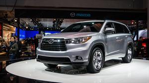 Toyota Highlander 2014 se presenta