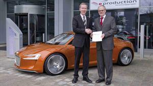 Audi lanza proyecto eléctrico eProduction