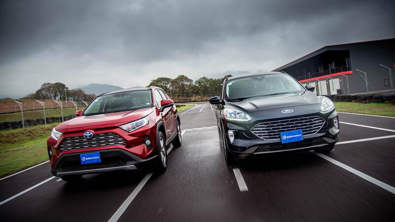 Toyota RAV4 Híbrida vs Ford Escape Híbrida 2021, ¿cuál ofrece mejor rendimiento?