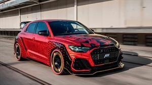 Daniel Abt muestra su propia interpretación del nuevo Audi A1 Sportback