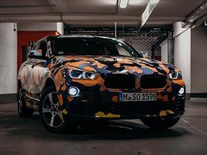 BMW X2 2018 se camuflajea