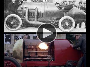 Reviven un FIAT S76 con más de 100 años de antigüedad