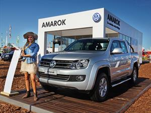 Volkswagen cerca del campo en Expoagro 2014