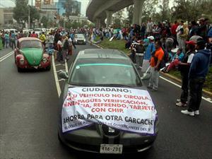 Conductor gana amparo en contra del Hoy No Circula