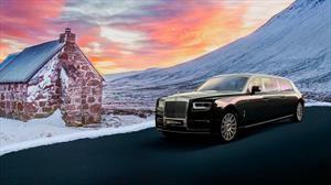 Este Rolls-Royce Phantom se convierte en una impresionante limosina blindada