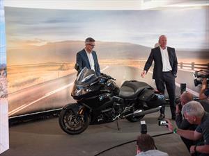 BMW K 1600 B busca conquistar el mercado estadounidense