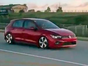 Volkswagen Golf de octava generación es captado sin camuflaje