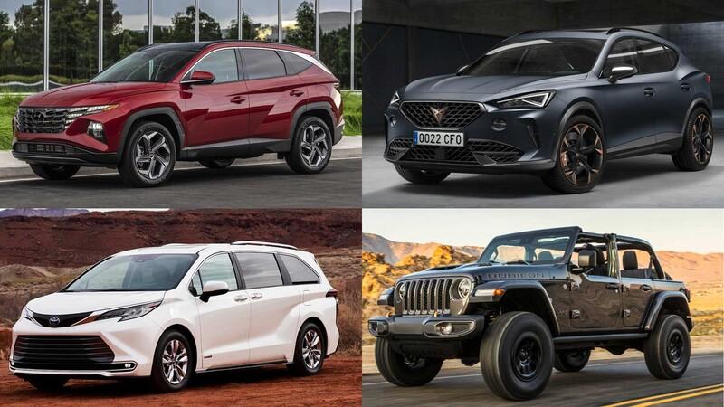 Todas las SUV, 4x4 y minivan que llegan a México en 2021