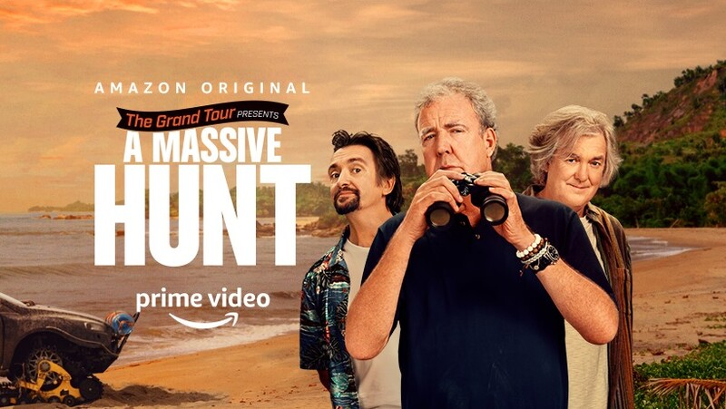 "El trio automotor presenta su nueva aventura en ""The Grand Tour"""