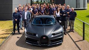 Bugatti alcanzó las 200 unidades producidas del Chiron