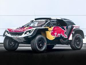 Peugeot 3008 DKR Maxi, listo para el Dakar