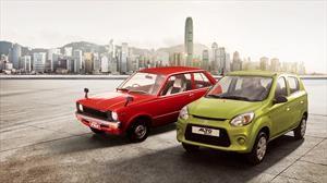 Suzuki Alto celebra cuarenta años de historia
