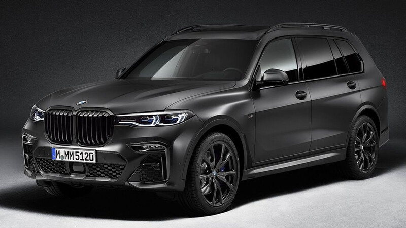 BMW X7 Dark Shadow Edition, el lado oscuro de las ediciones especiales