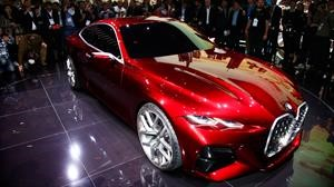 BMW Concept 4, el musculoso coupé