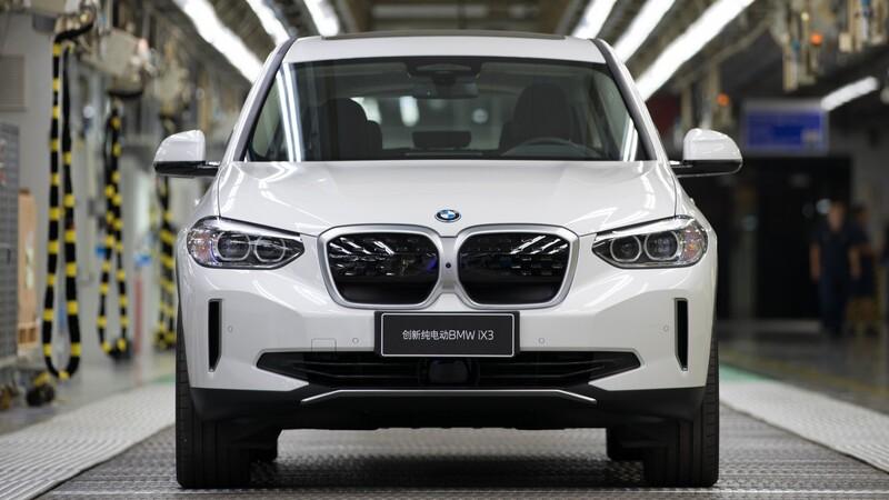 BMW inicia la producción del iX3 en China
