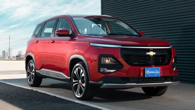 Chevrolet Captiva 2022 llega a México con motor turbo y tres filas asientos