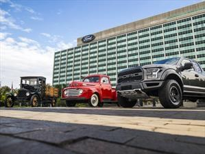 Desde hace 100 años que Ford fabrica camiones