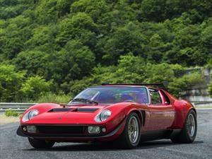 El único Miura SVR fue restaurado por Lamborghini