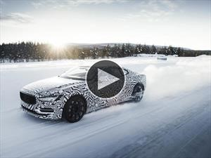 Video: Polestar 1, furia sobre la nieve