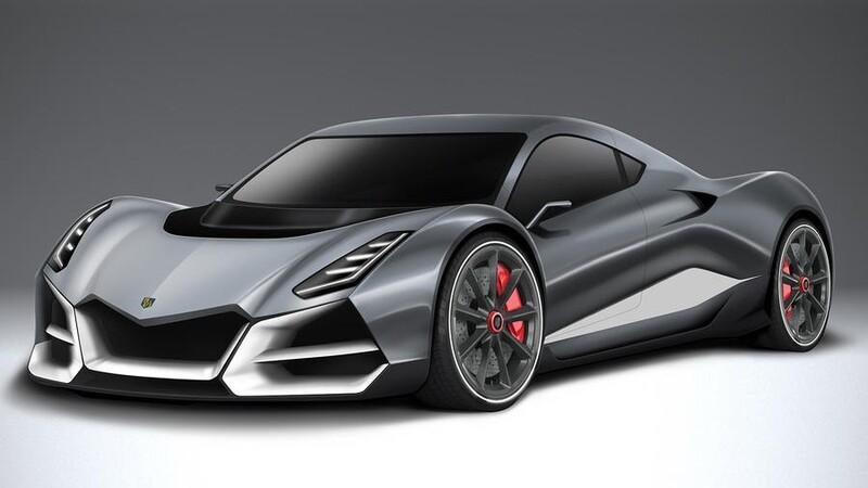 Conoce este super auto eléctrico con casi 2,000 hp