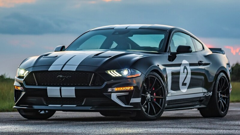 Hennessey Mustang Legend Editon: con más de 800 hp, rinde tributo al Ford GT40