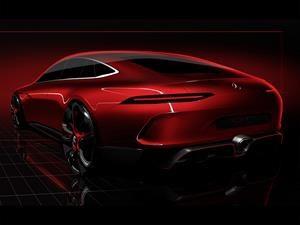 Mercedes AMG GT Sedan Concept, un ejecutivo y poderoso prototipo