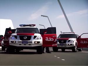La Policía de Abu Dhabi nos presume su flota de patrullas