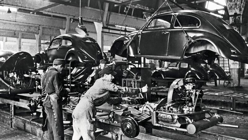 El Volkswagen Escarabajo cumple 75 años