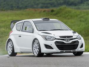 Hyundai i20 WRC  ejecuta su primer test