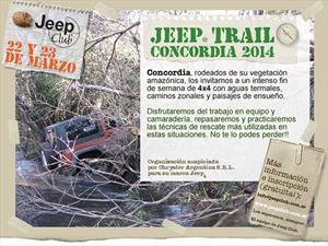 El Jeep Club se vá de aventura a Concordia y vos podés participar