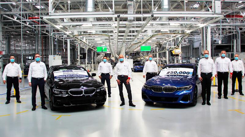 BMW Serie 3 llega a 50 mil unidades producidas en México, inicia a la fabricación del modelo híbrido