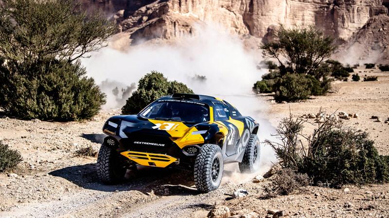 Extreme E es la nueva categoría de rally con autos eléctricos