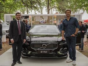 Volvo presentó en Argentina al S90, su nuevo sedán grande