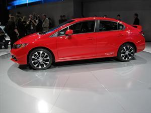 Nuevo Honda Civic se presenta en el Salón de Los Angeles