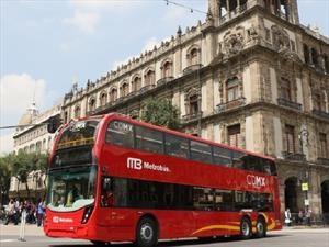 Metrobús de la CDMX tendrá autobuses de doble piso