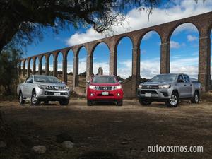 Toyota Hilux Vs Nissan Frontier Vs Mitsubishi L200